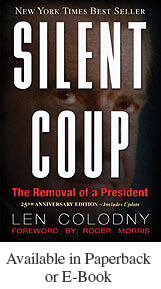 """Silent Coup, The Removal of a President"" Book"